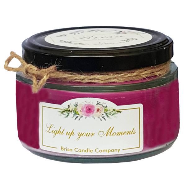 شمع لیوانی رایه دار بریسا