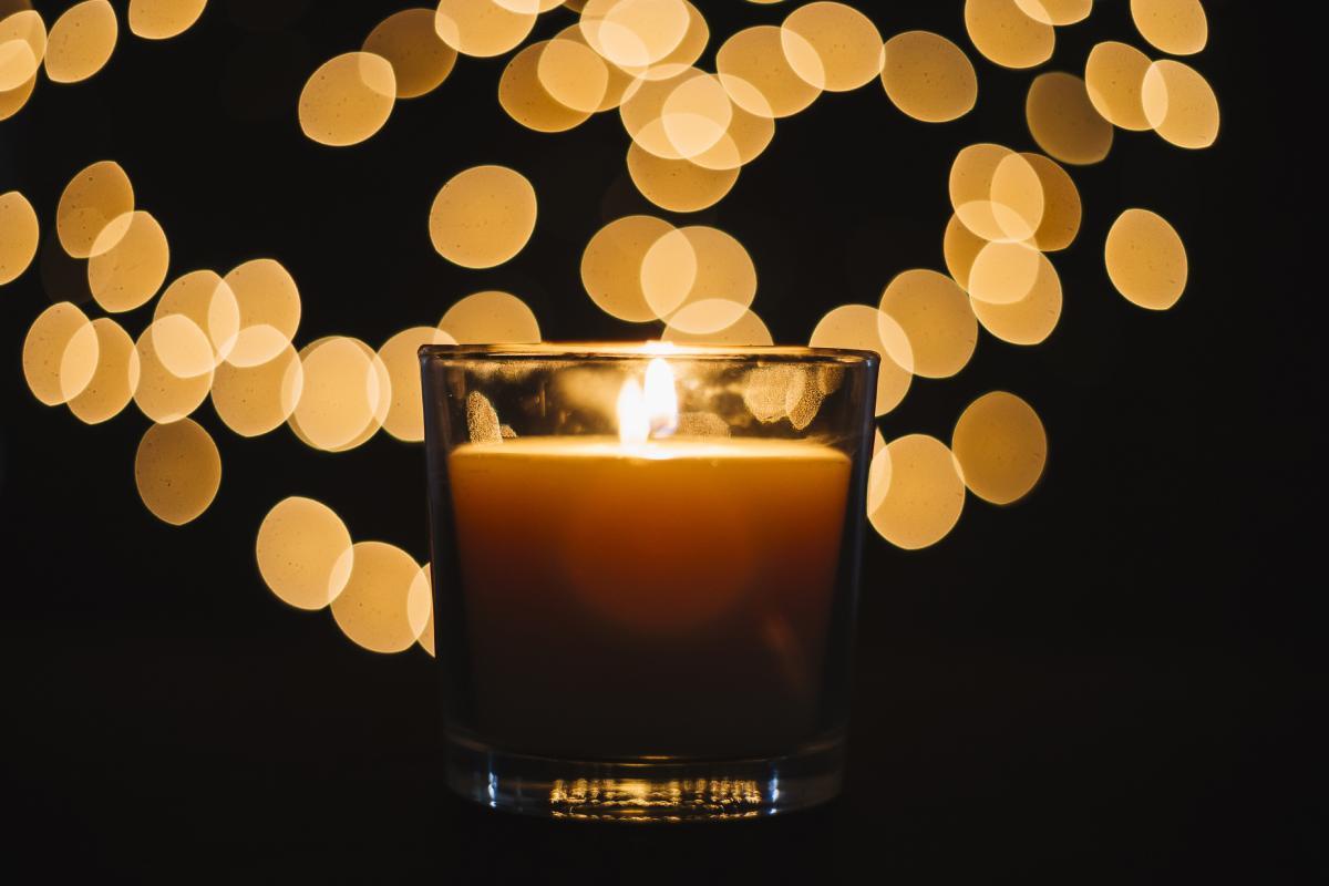 شمع لیوانی