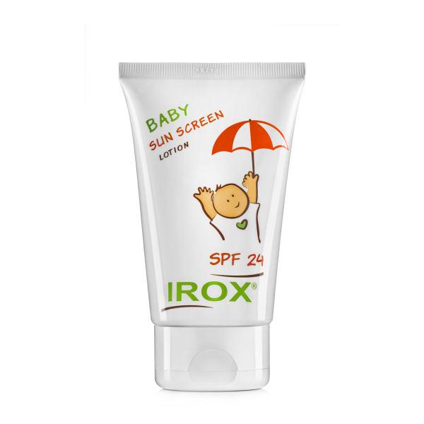 لوسیون ضدآفتاب کودکان ایروکس مدل Baby sun screen lotion