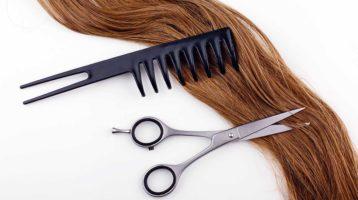 وسایل اصلاح مو در خانه