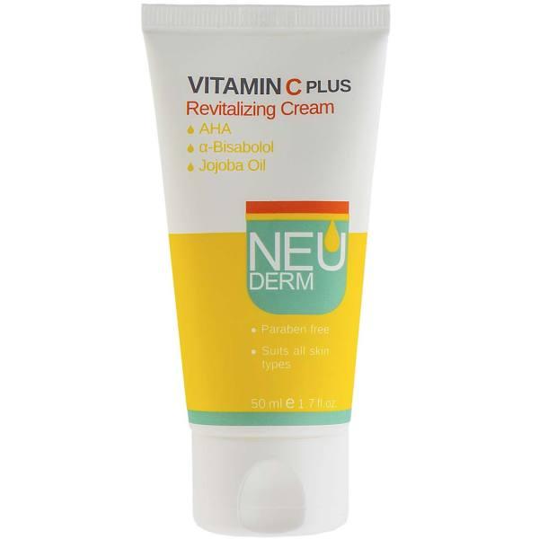 کرم روشن کننده نئودرم مدل Vitamin C Plus