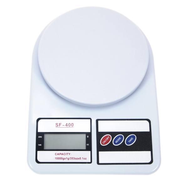 ترازو آشپزخانه الکترونیک مدل SF-400 ظرفیت 10 کیلوگرم