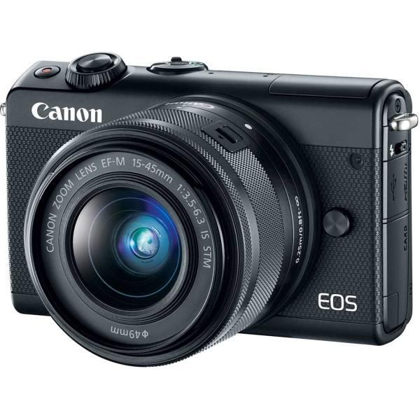 دوربین دیجیتال بدون آینه کانن مدل EOS M100 به همراه لنز 15-45 میلی متر