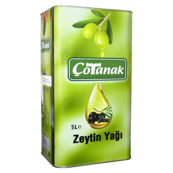 روغن زیتون بکر چوتاناک - 5 لیتر