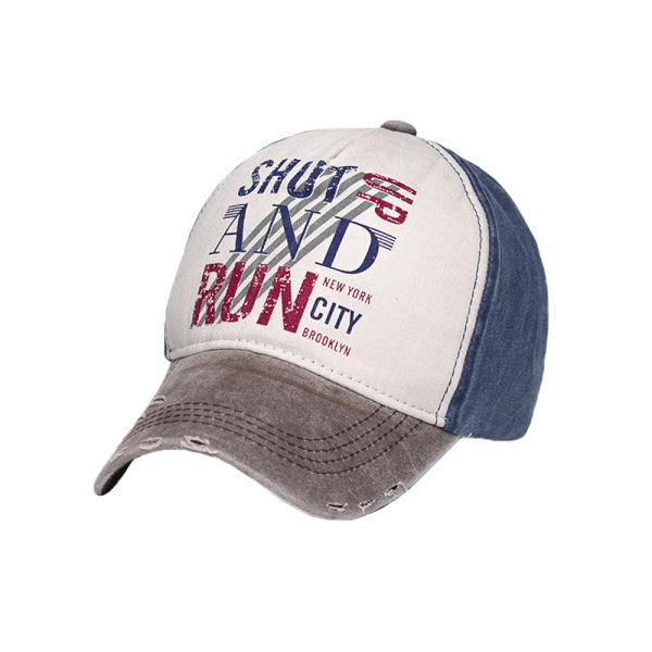 کلاه کپ مردانه مدل SHUT AND RUN کد 1651