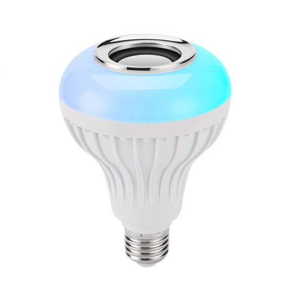 لامپ و اسپیکر بلوتوث هوشمند کد Smart LED Music Bulb