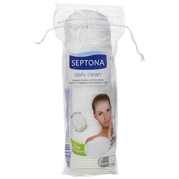 پد آرایشی دو طرفه سپتونا مدل Daily Clean بسته 70 عددی