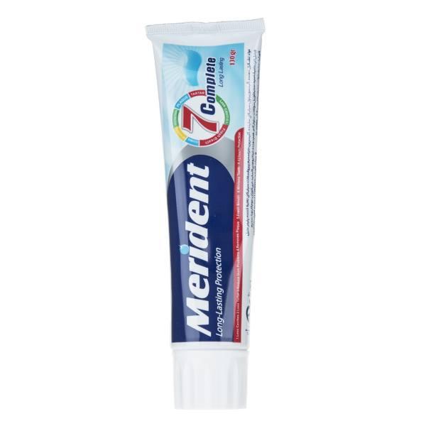 خمیر دندان مریدنت مدل 7 Complete مقدار 130 گرم
