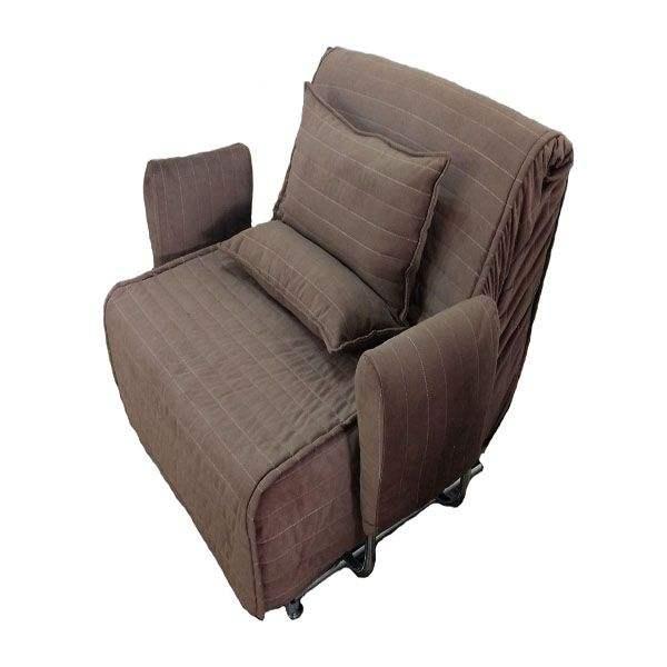 کاناپه مبل تختخواب شو ( تخت خواب شو , تختخوابشو ) یک نفره دسته متکایی