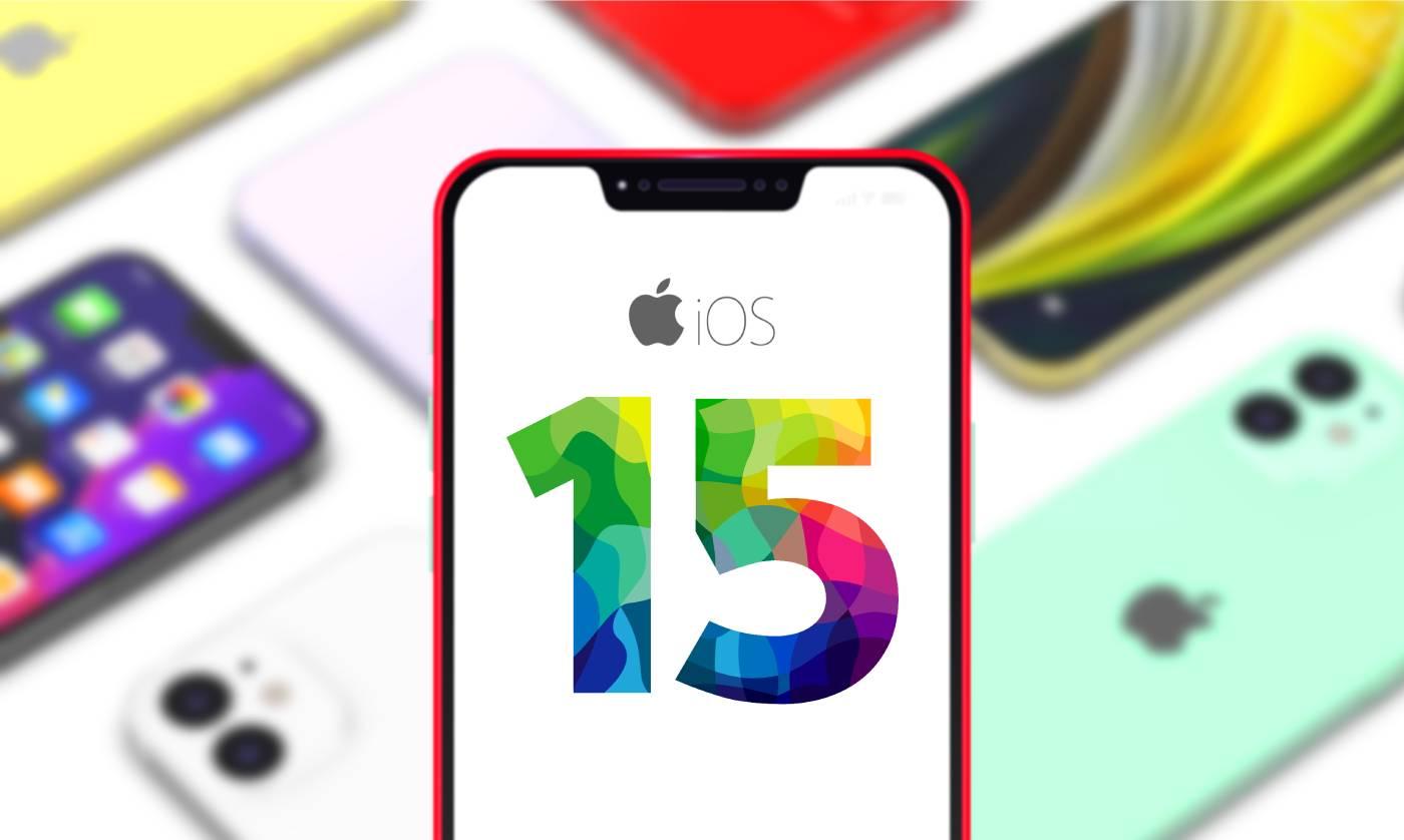 آیفون 13 با iOS 15