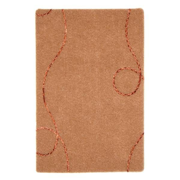 موکت ظریف مصور طرح نسیم زمینه شکلاتی کد 8621